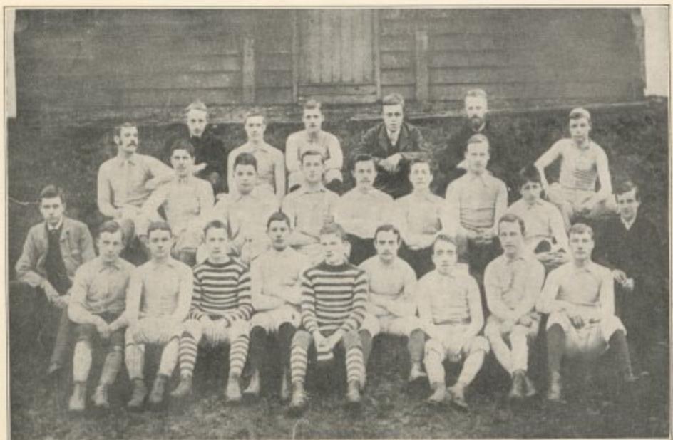 Tottenham Hotspur 1884:85 1st and 2nd teams