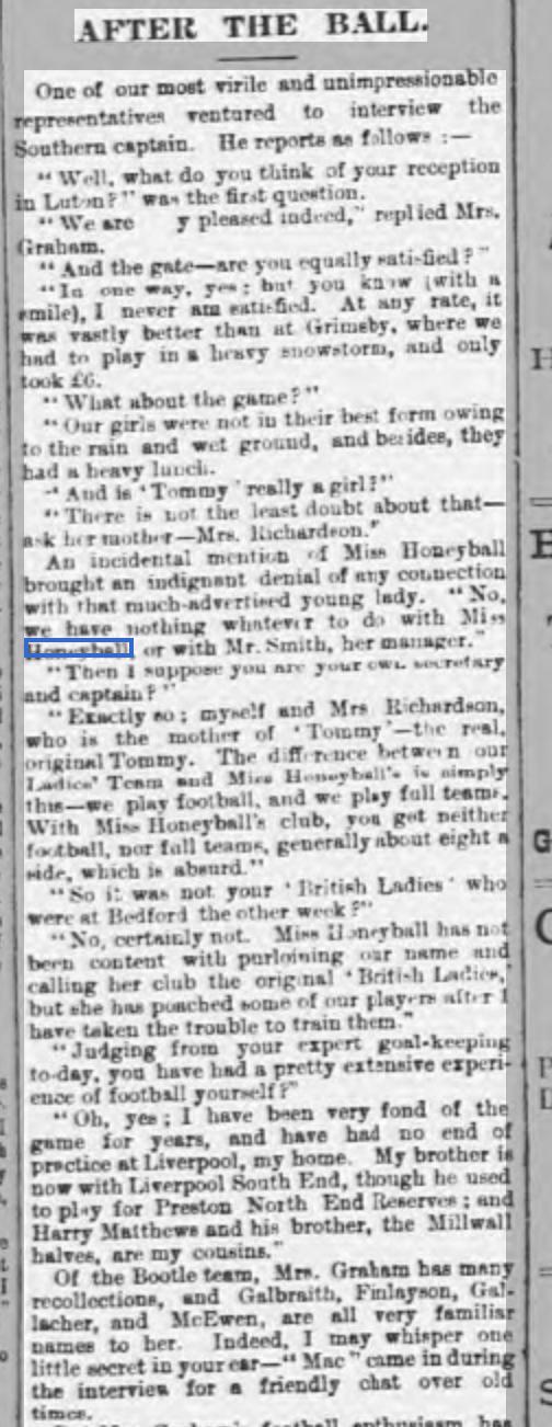 Luton Times ladies interview 22:11:95 1
