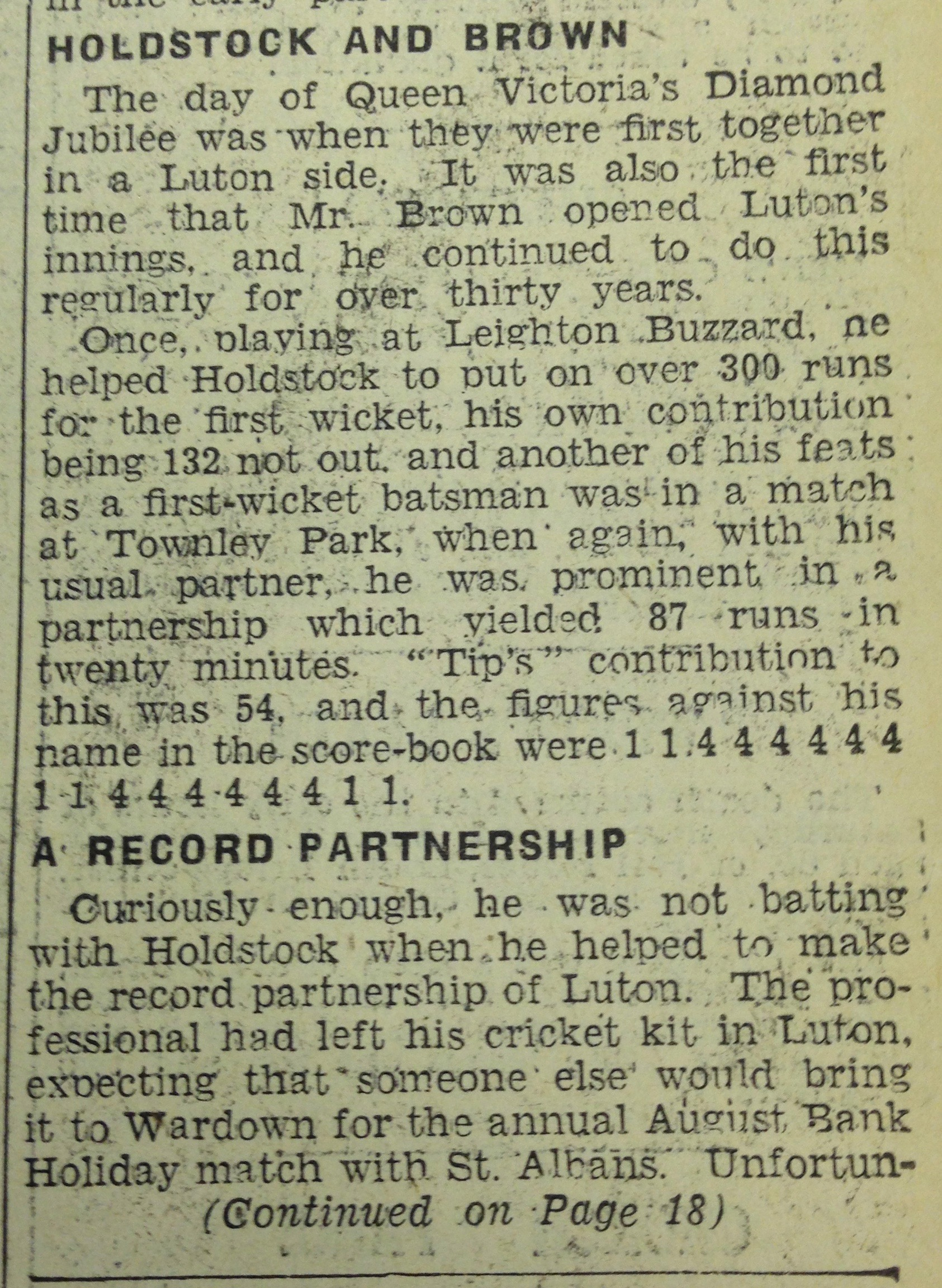 Tip 3 28th June 1934