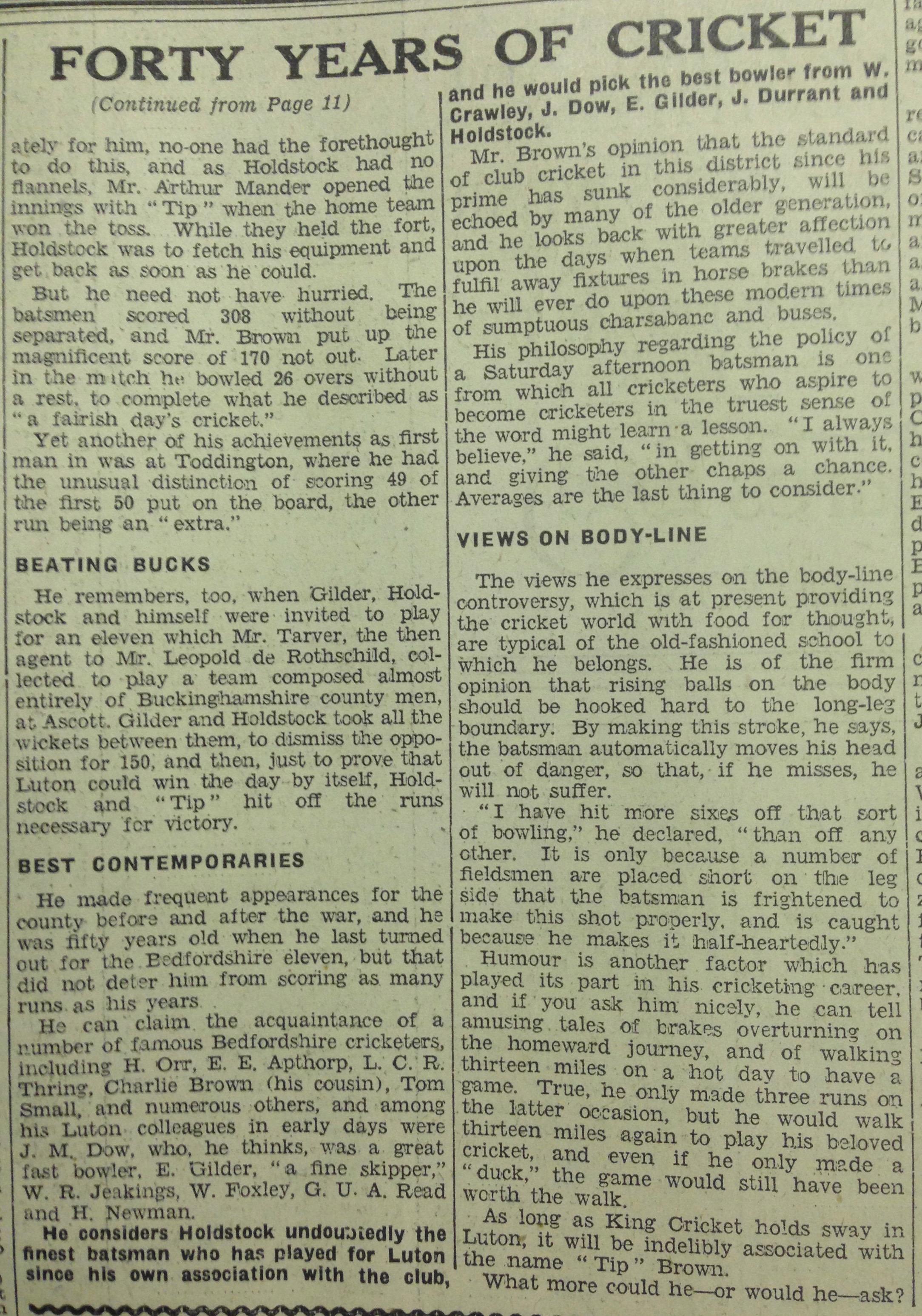 Tip 4 28th June 1934