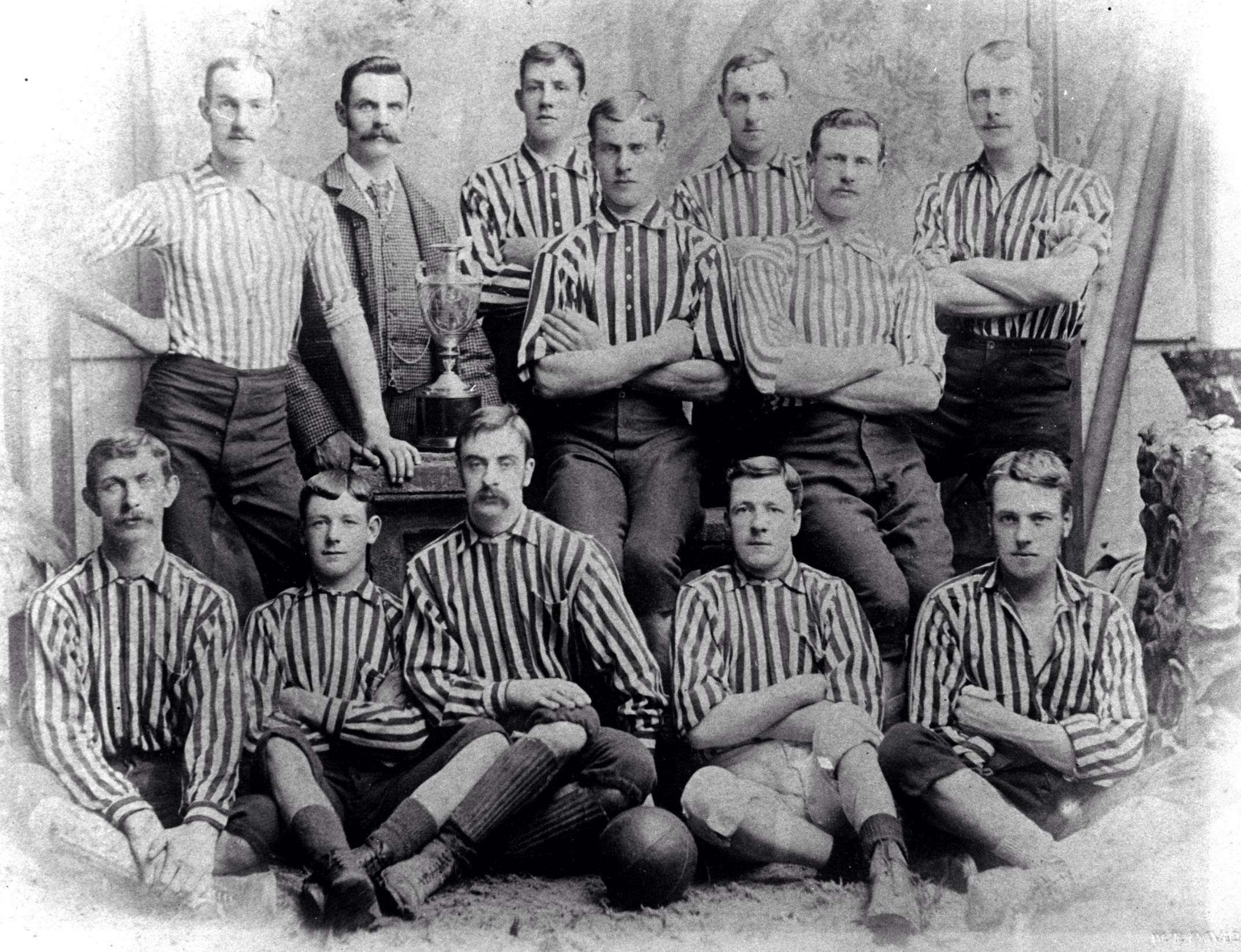 Moffat United Scotland around 1894