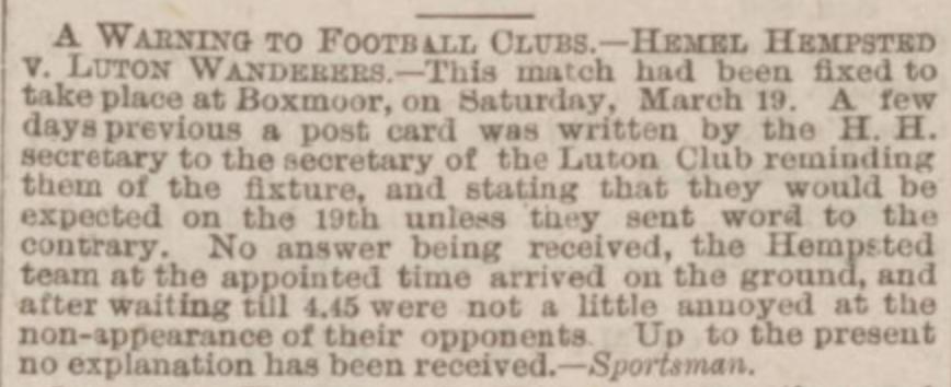 Northampton Mercury 2nd April 1887