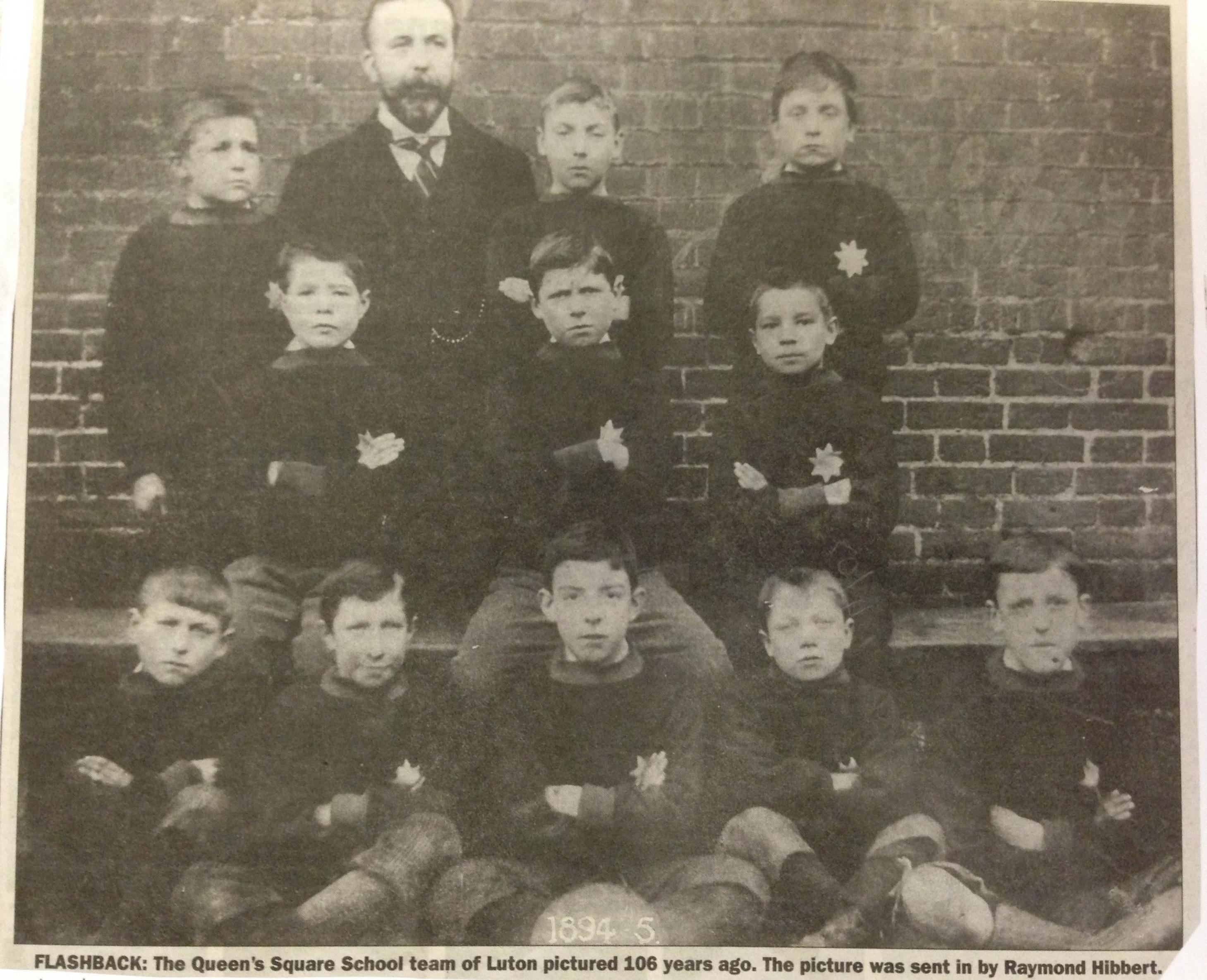 Queen's Square School, Luton 1894:95