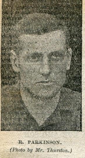Robert Parkinson 1895:96
