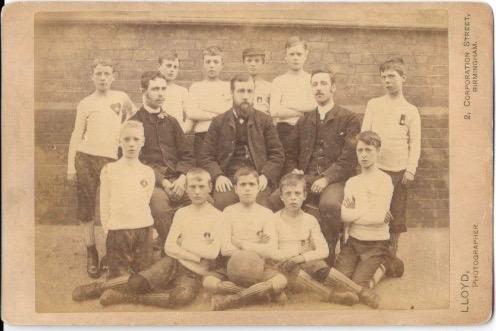 Unknown school team 1880's