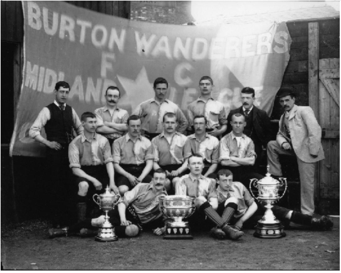 Burton Wanderers 1894:95