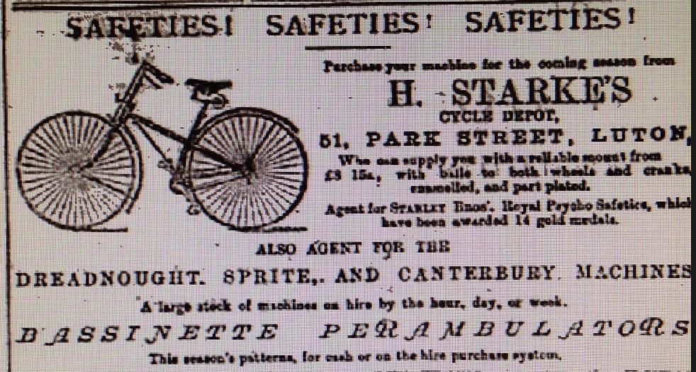 1887 bike advert