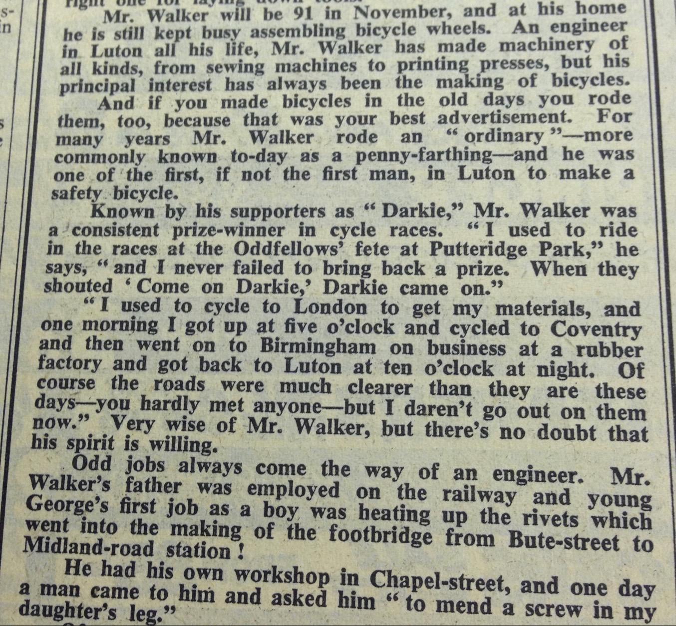 George Darkie Walker 1