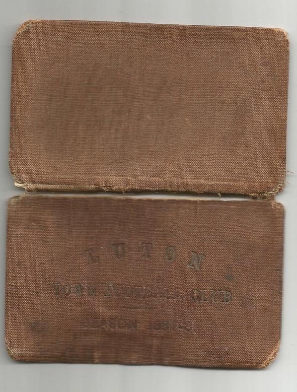 members ticket 1887/88